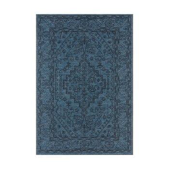 Covor de exterior Bougari Tyros, 200 x 290 cm, albastru închis poza bonami.ro