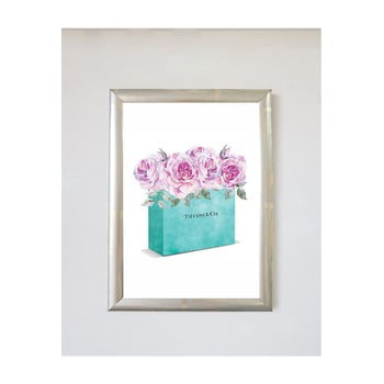 Tablou Piacenza Art Flower Bag, 30 x 20 cm bonami.ro