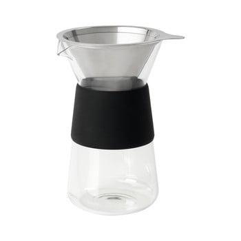 Ibric din sticlă pentru cafea Blomus Coffee, 400 ml v poza bonami.ro