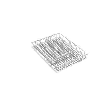 Suport din inox pentru tacâmuri Addis Wire, 36,5 cm, alb bonami.ro