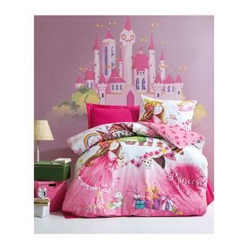 Lenjerie de pat din bumbac cu cearşaf pentru copii Angie, 160 x 220 cm bonami.ro