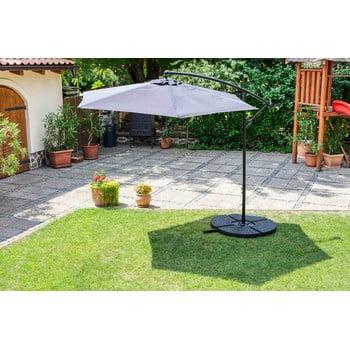 Suport cu apă pentru fixare umbrelă de soare Timpana H2O, 52 l, negru bonami.ro
