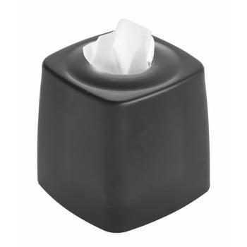 Cutie pentru șervețele iDesign Austin, negru bonami.ro