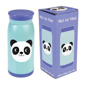 Sticlă din inox Rex London Miko the Panda, 350 ml poza bonami.ro