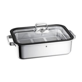 Tavă din oțel inoxidabil pentru gătit pe aburi WMF Cromargan® Vitalis, 6,5 l poza bonami.ro