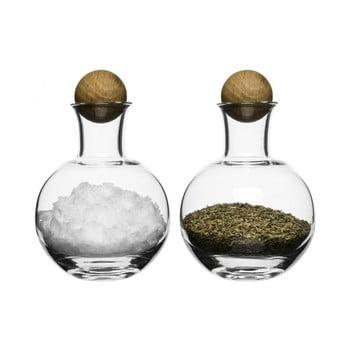Solniță și piperniță Sagaform Oval Oak, 200 ml bonami.ro