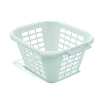 Coș de rufe Addis Square Laundry Basket, 24 l, alb bonami.ro