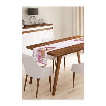 Napron din microfibră pentru masă Minimalist Cushion Covers Curly Cute Girl, 45x145cm bonami.ro