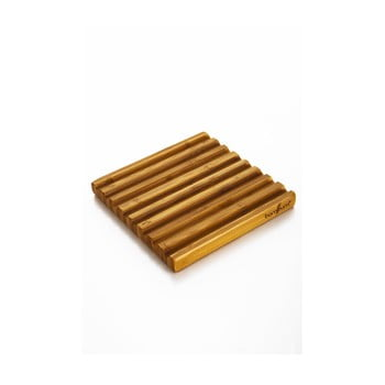 Suport din bambus pentru vase fierbinți Bambum Pita poza bonami.ro