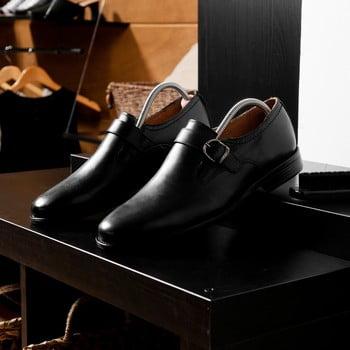 Set 2 șanuri din lemn pentru pantofi Compactor Cedar Tree, mărime 44/46 poza bonami.ro