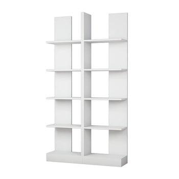 Bibliotecă Ikiz, alb bonami.ro
