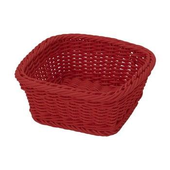 Coș pentru masă Saleen, 19x19cm, roșu poza bonami.ro