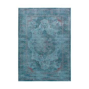 Covor din viscoză Universal Lara Aqua, 120 x 170 cm, albastru imagine
