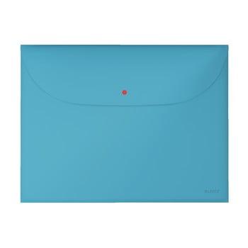 Dosar plic pentru documente Leitz Cosy, A4, albastru bonami.ro