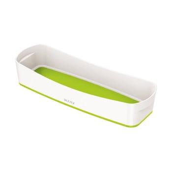 Organizator de birou Leitz MyBox, lungime 31 cm, alb - verde bonami.ro