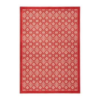 Covor Hanse Home Gloria Tile, 200 x 290 cm, roșu imagine