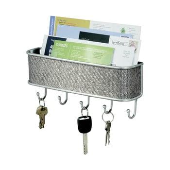 Cuier de perete pentru chei și scrisori iDesign Twillo bonami.ro