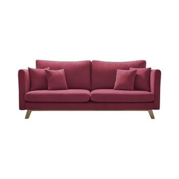 Canapea extensibilă Bobochic Paris Triplo, roșu imagine