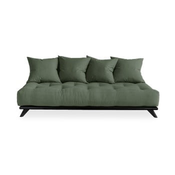 Canapea Karup Design Senza Black/Olive Green, verde imagine
