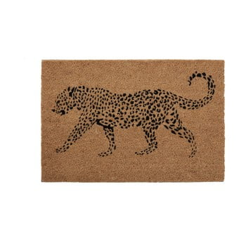 Covoraș din fibre naturale de cocos Premier Housewares Leopard,40 x60cm poza bonami.ro