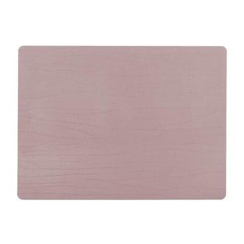 Suport farfurie din piele reciclată ZicZac Titane,33x45cm, roz bonami.ro
