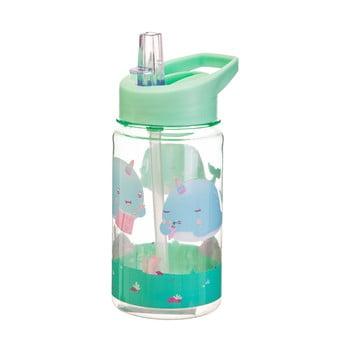 Sticlă apă pentru copii Sass & Belle Drink Up Alma Narwhal,400ml, verde poza bonami.ro