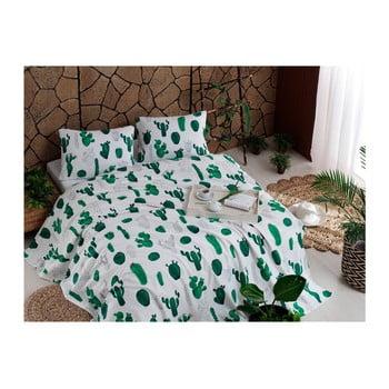 Cuvertură din bumbac de pat Russno Plantea, 200 x 235 cm poza bonami.ro