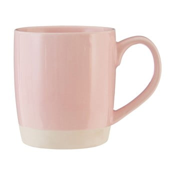 Cană din gresie ceramică Premier Housewares, 370 ml, roz bonami.ro