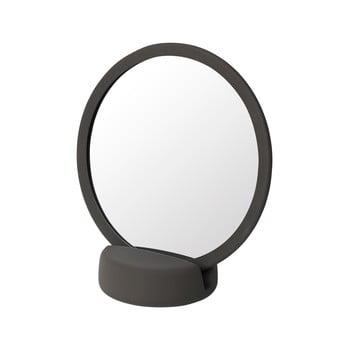 Oglindă cosmetică pentru masă Blomus, înălțime 18,5 cm, maro bonami.ro