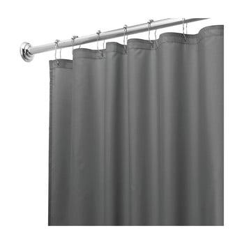 Perdea de duș iDesign, 180x200cm, gri bonami.ro