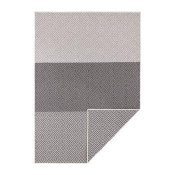 Covor reversibil adecvat interior/exterior Bougari Borneo, 160 x 230 cm, negru-crem bonami.ro