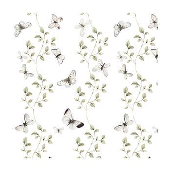 Tapet cu model cu fluturi Dekornik Butterflies Having Fun bonami.ro