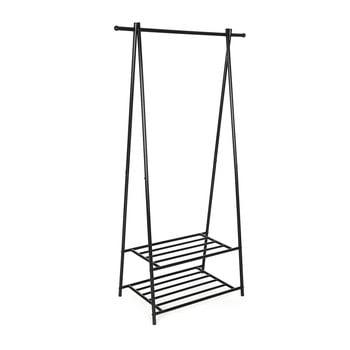 Suport metalic cu 2 rafturi pentru haine Songmics, lățime 87,5 cm poza bonami.ro