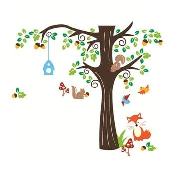 Set autocolante Ambiance Nut Tree And Fox bonami.ro