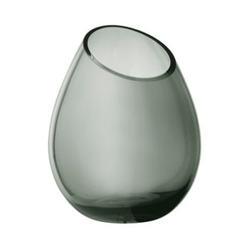 Vază din sticlă Blomus Raindrop, înălțime 24 cm, verde poza bonami.ro