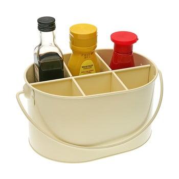 Suport din metal pentru sticluțe cu condimente Versa, bej bonami.ro