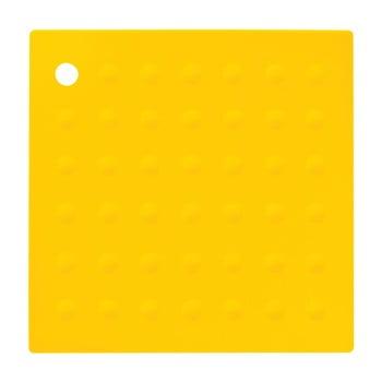 Suport din silicon pentru cană Premier Housewares Zing, galben poza bonami.ro