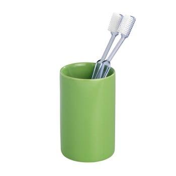 Suport pentru periuțe de dinți Wenko Polaris Green, verde poza bonami.ro
