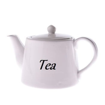 Ceainic din ceramică Dakls, 1000 ml, alb bonami.ro