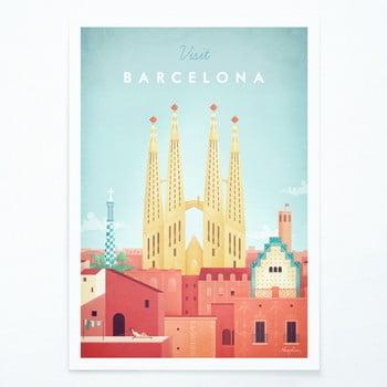 Poster Travelposter Barcelona, A2 bonami.ro
