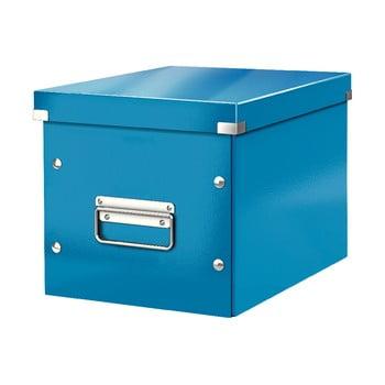 Cutie depozitare Leitz Office, lungime 26 cm, albastru bonami.ro