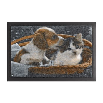 Covor Hanse Home Animals Dog and Cat, 40 x 60 cm bonami.ro