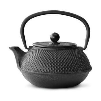 Ceainic din fontă cu infuzor Bredemeijer Jang, 800ml, negru bonami.ro