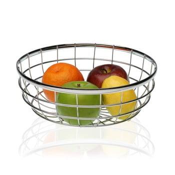 Coș din oțel pentru fructe Versa Chrome, ⌀ 25 cm poza bonami.ro