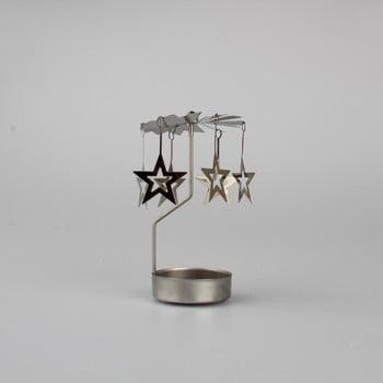 Decorațiune rotativă metalică cu stele Dakls Stars bonami.ro