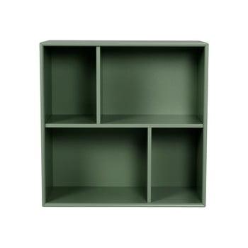 Etajeră Tenzo Z Cube, 70 x 70 cm, verde închis bonami.ro