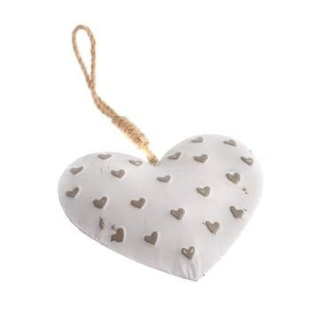 Decorațiune suspendată din metal în formă de inimă Dakls Easter Heart poza bonami.ro
