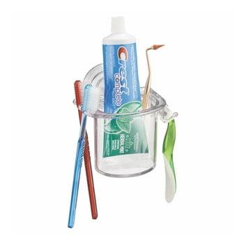 Pahar pentru periuța de dinți, cu ventuză iDesign Rain bonami.ro