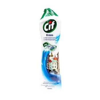 Soluție cremă de curățare pentru baie și bucătărie Cif, 500 ml poza bonami.ro
