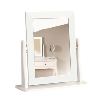 Oglindă machiaj pentru masa de toaletă Steens Baroque, alb bonami.ro